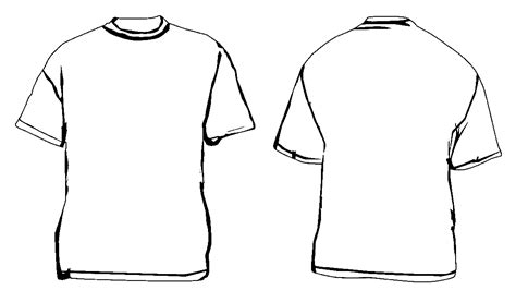 Custom Shirt Template Templates Station Screen Printing T Shirt Template