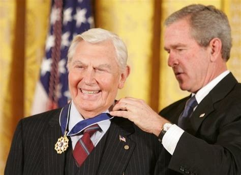 george griffith actor president george w bush presents the presidential medal