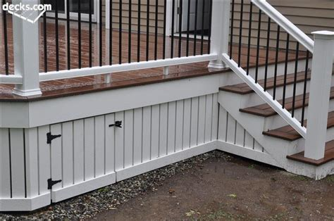 deck skirting and fascia decks