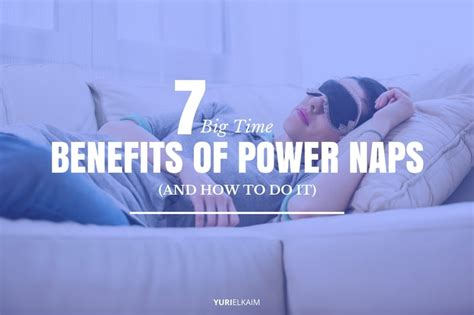 7 Benefits Of Siesta Time by 7 Big Time Benefits Of Power Naps And How To Do It