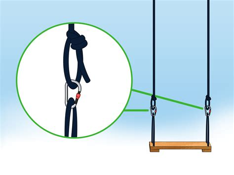how to make a good rope swing 3 ways to make a rope swing wikihow