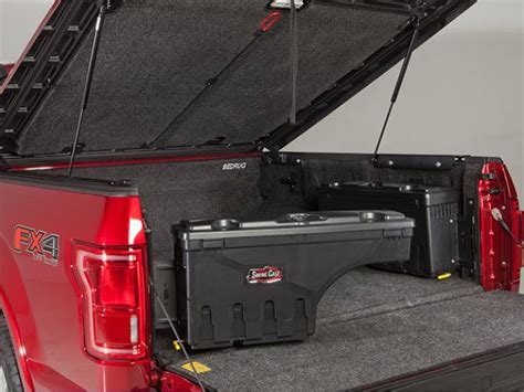 swing out tool box for trucks undercover swing case toolbox realtruck com