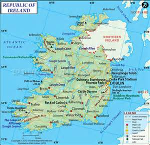 World Map Ireland by Ireland Map Maps Of The World Pinterest
