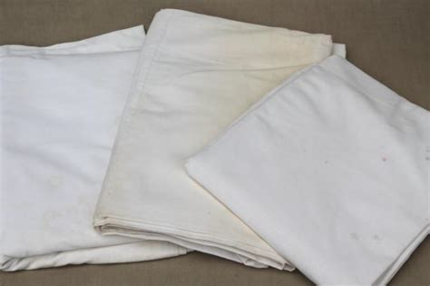flat bed sheets huge lot of plain white cotton bedsheets flat bed sheets vintage bedding