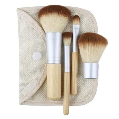1 Set Kuas Make Up Mac kuas make up bambu 4 set jakartanotebook