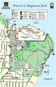 Seattle Parks Map by Warren G Magnuson Park Map Seattle Washington Mappery