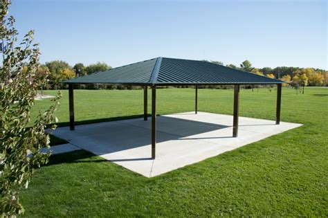 Metall Pavillon by Steel Shelter Pavilion