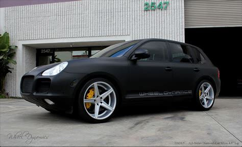 100 Porsche Turbo Wheels Black 2011 Silver Porsche