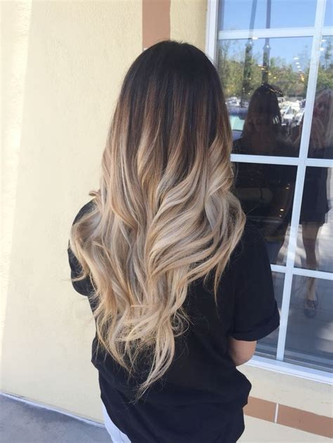 how long does hair ombre last 60 trendy ombre hairstyles 2017 brunette blue red