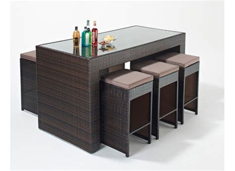 Rattan Bar Table Homeofficedecoration Rattan Bar Table