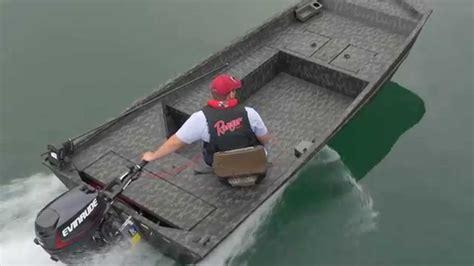 jon boat plug size 2015 ranger 1652 tiller aluminum jon boat youtube