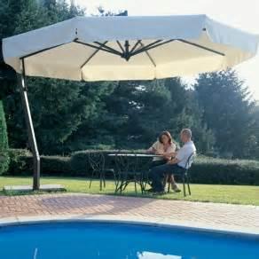 Heavy Duty Patio Umbrellas 13 Heavy Duty Aluminum Offset Patio Umbrella On Sale Now