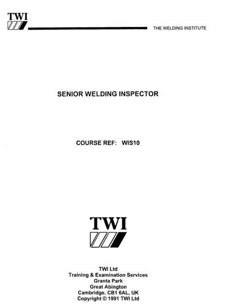 CSWIP 3.2 STUDY MATERIAL PDF