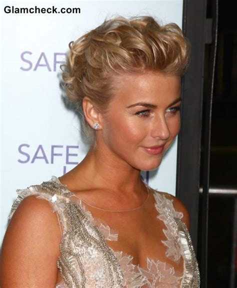 how to the famous julianne hough updo julianne hough rules red carpet in sophisticated updo