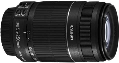 Lensa Zoom Canon 55 250mm canon ef s 55 250 mm f 4 5 6 is ii lens canon