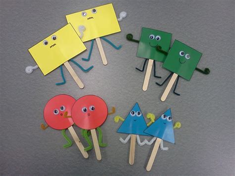 rectangle crafts for library toddler story time i see shapes