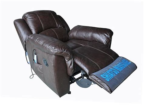 recliners with heat and massage leather turnda espresso leather glider recliner with heat and
