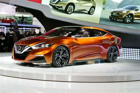 black nissan sports car nissan sport sedan concept first look motor trend