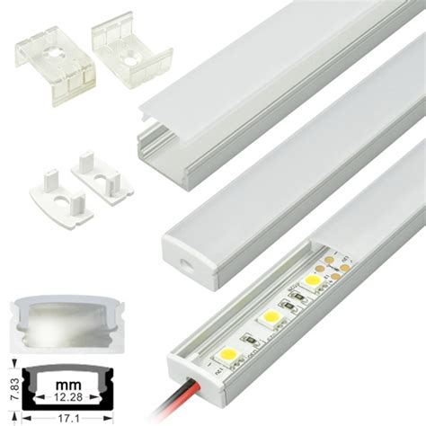 Cover Cob 10 Cm led light fixtures aluminum extrusion channel