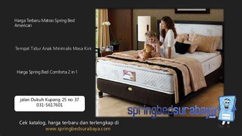 Tempat Tidur American Pillo bed american surabaya