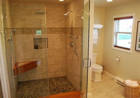 Walk In Shower Picture Gallery walking in shower easy access bathrooms