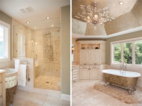 frameless glass shower doors and clawfoot tub