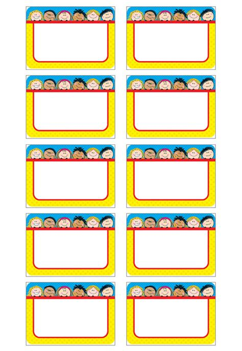 preschool name tag templates name tag template name badge templates