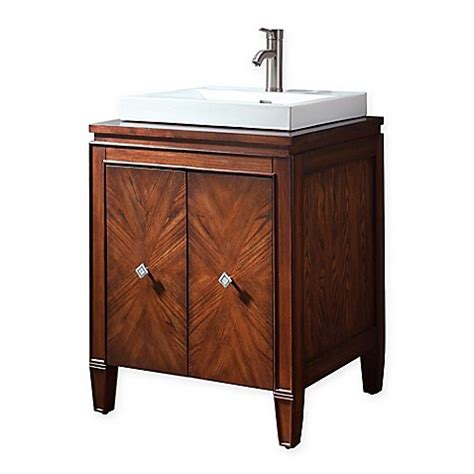 bed bath and beyond brentwood avanity brentwood vanity and mirror in new walnut bed