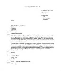 proper format business letter 14 proper letter formats free sle exle format