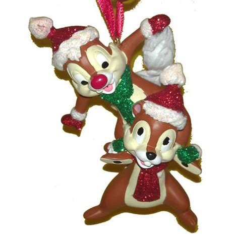 your wdw store disney christmas ornament chip and dale