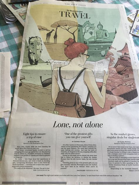 washington post travel section wow today s washington post travel section is quot the solo