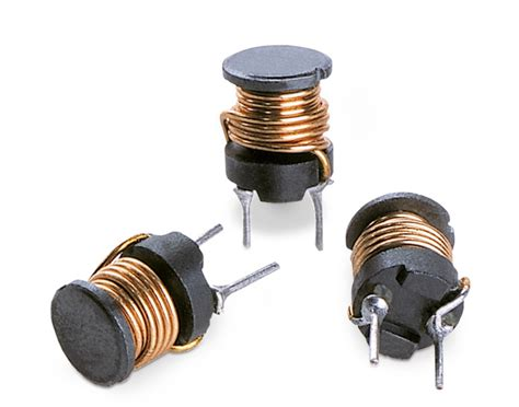 we power inductor we ti hv radial leaded wire wound inductor high voltage single coil power inductors wurth