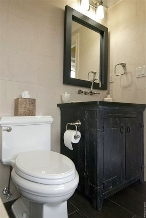 dark vanity bathroom ideas black slate floor design ideas