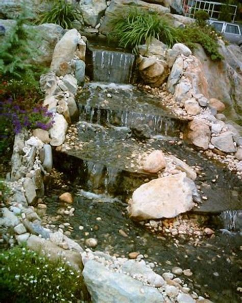 home decor waterfalls modern water fountains and waterfalls to decorate your