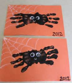 Halloween Arts And Crafts For Kids Pinterest - hand print spider halloween craft ipinnedit