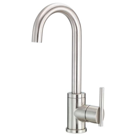 Bar Faucet Single by Danze Parma Single Handle Bar Faucet With Side Mount Lever Handle In Stainless Steel D151558ss