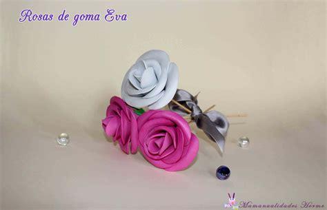 como hacer una rosa imgenes manualidades herme como hacer rosas de goma eva
