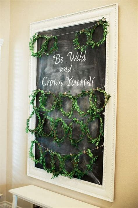fresh greenery baby shower decor ideas shelterness
