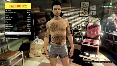 tattoo gta v online gta v online all of the new tattoos the new tattoo
