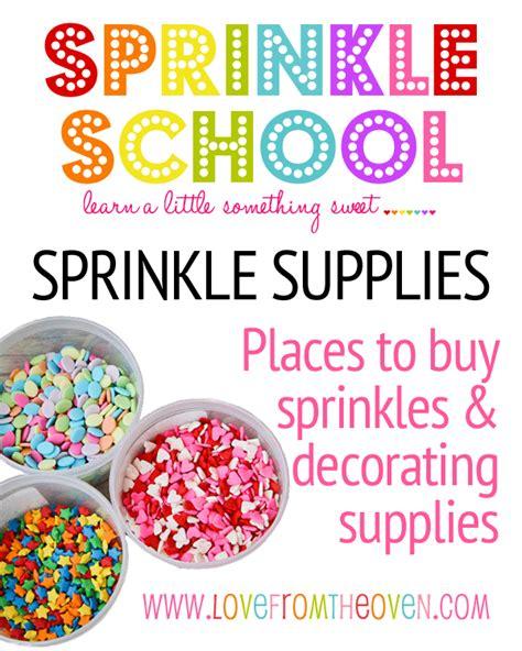 sprinkle school   find buy sprinkles
