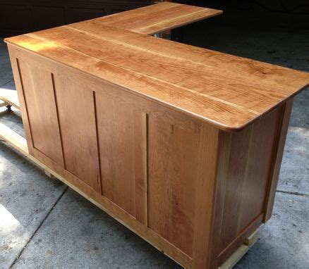 Custom L Shaped Desk Crafted L Shape Desk By Collin S Custom Furniture Custommade