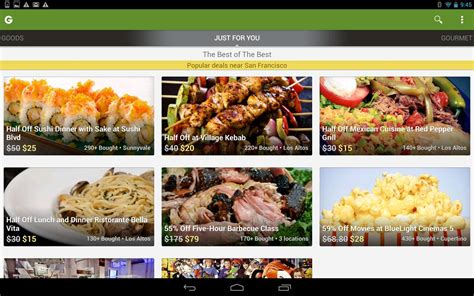 How To Redeem Groupon Gift Card - groupon android apps on google play