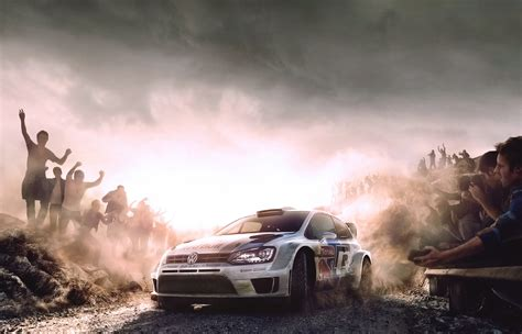wallpaper hd polos red bull white rally auto car volkswagen sport