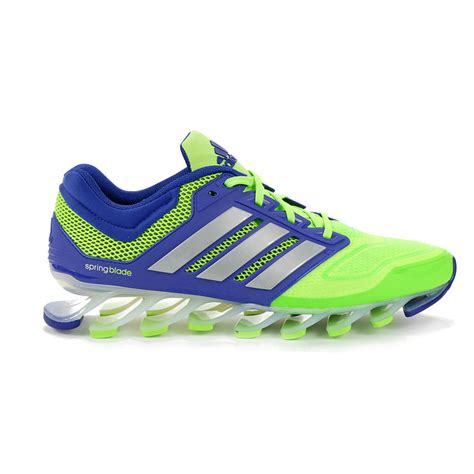 green adidas running shoes adidas men s springblade drive techfit running shoes