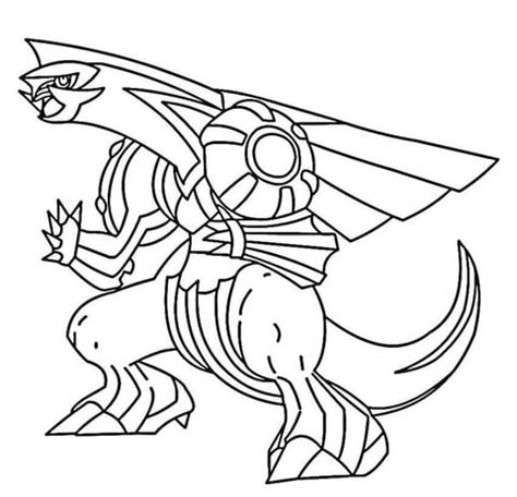 click the palkia coloring page