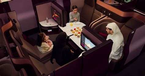 qatar airways business class qsuite  game changing