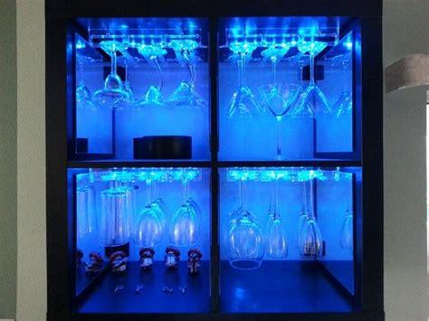 cabinet wine glass rack ikea ikea hack led wine glass rack 1up upcycled ikea hacks led and glasses