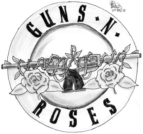 symbol guns n roses by myperseus on deviantart