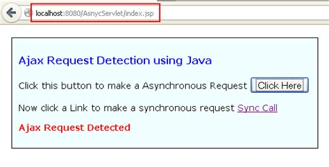 tutorial java http request how to detect ajax request using java servlet techzoo