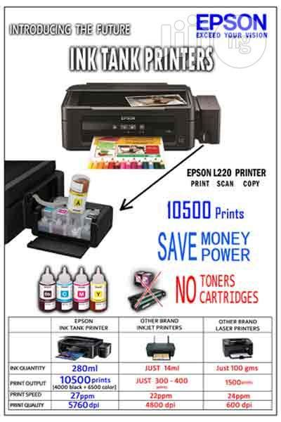 Printer Epson L220 Jogja epson l220 inkjet multifunction printer print scan and